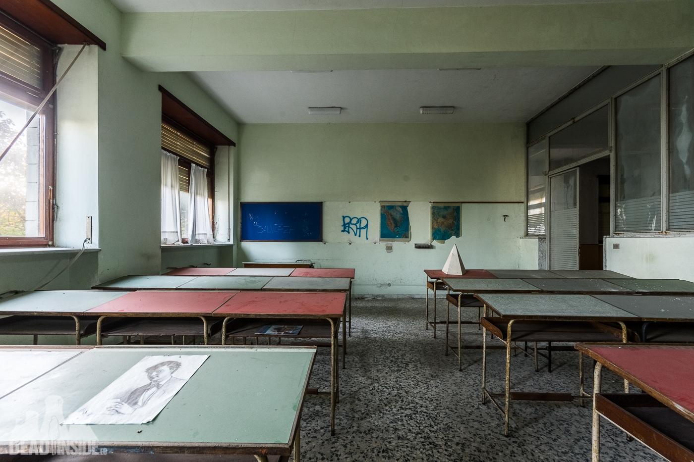 abandoned music school Italy